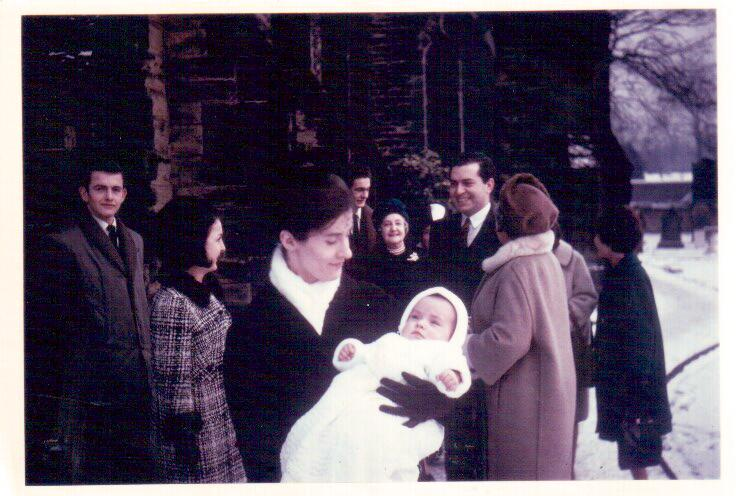 Chrstening Dec'64
