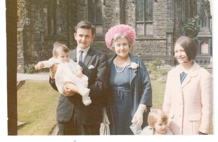 Sarah christening July67 001